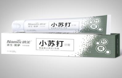 竹炭牙膏和小苏打牙膏的功效
