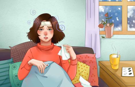 感冒发烧有三怕